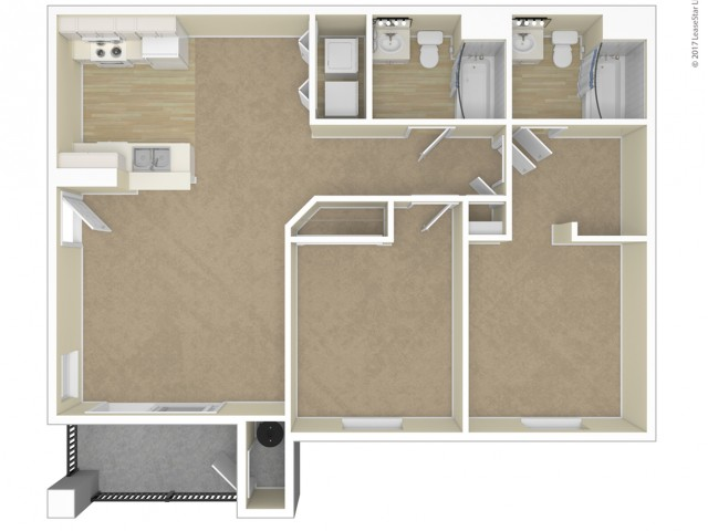 Floor Plans at Silver Creek Apartments