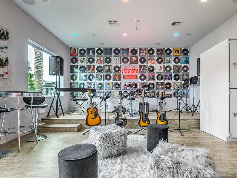 Lyric Music Room | Apartments in Las Vegas