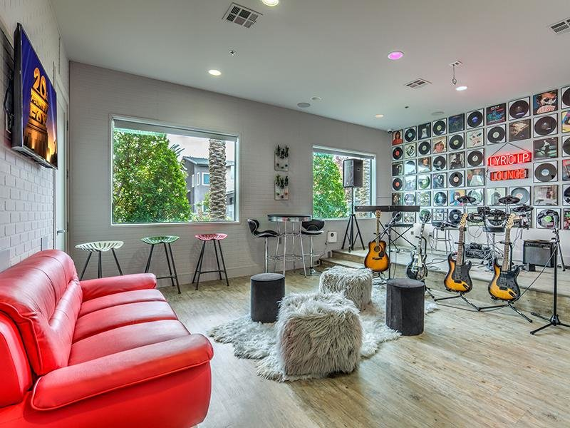 Music Room | Lyric Apartments