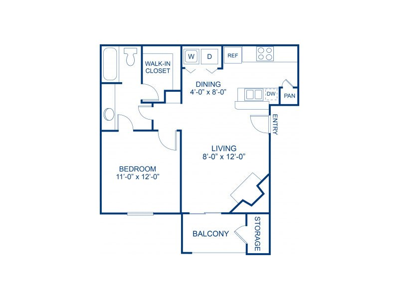 Floor Plans at Bella Solara Apartments