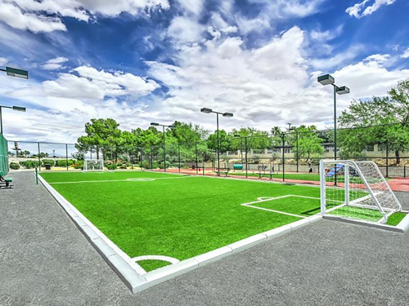 Soccer Field | The Commons in Las Vegas