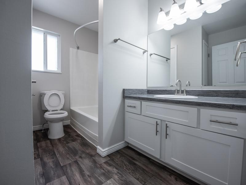 Bathroom | Holladay on Ninth Salt Lake City Apartments