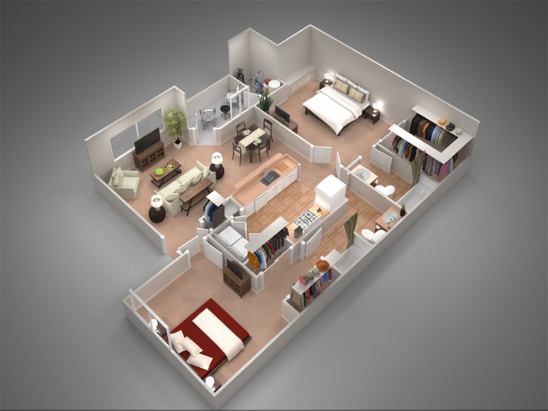 Floor Plans at Remington Ranch Apartments