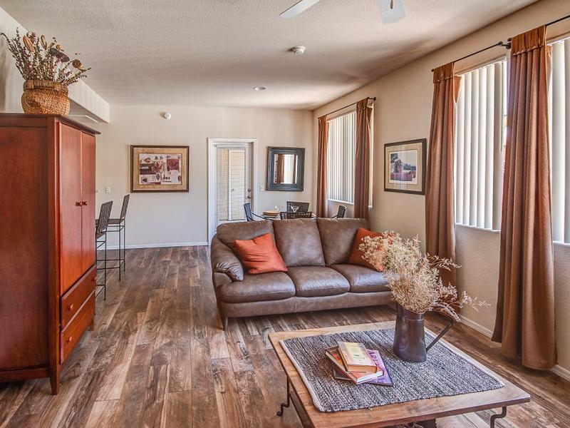 2 Bedroom Living Room | B5| Remington Ranch