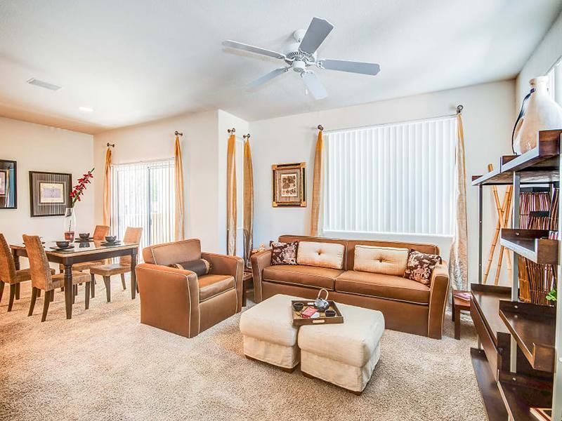 Living Room | A3 | Remington Ranch
