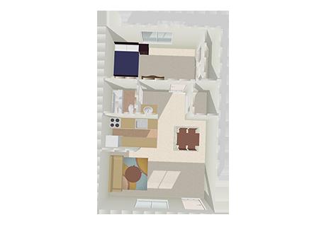 Floorplan for Bella Solano Apartments