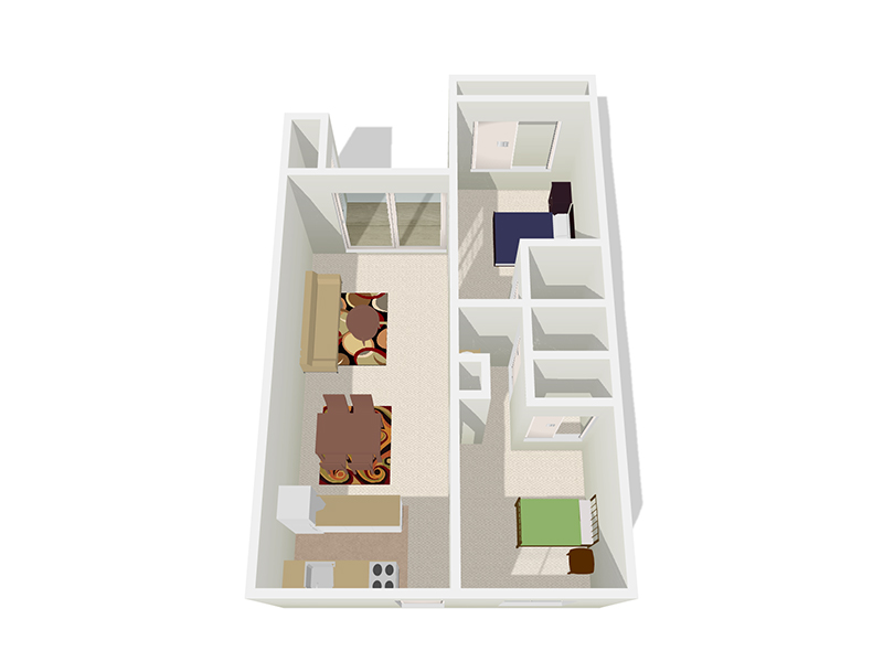 Floor Plans at Bella Solano Apartments