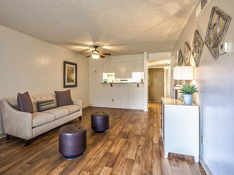 Entry | Living Room | Villages at Metro Center