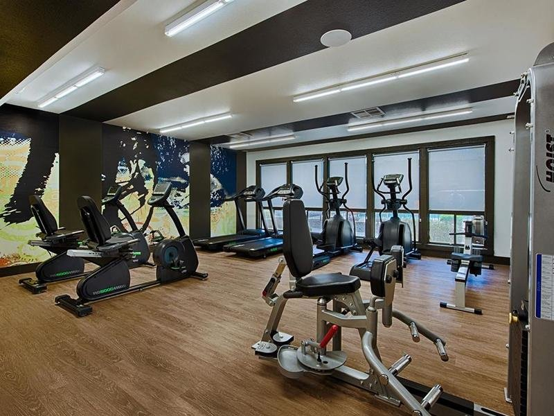 Gym | Avia 266 Apartments