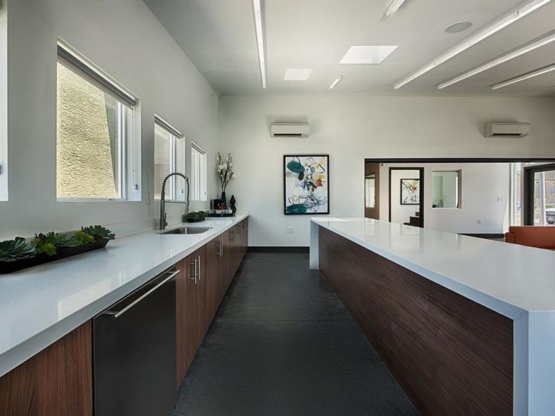Clubhouse Kitchen | Avia 266 Apartments