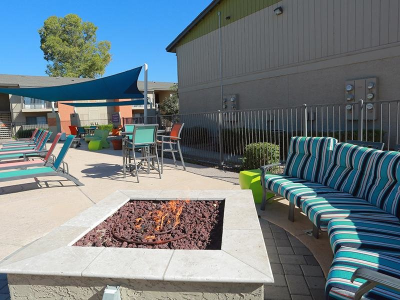 Fire Pit | Avia 266 Apartments