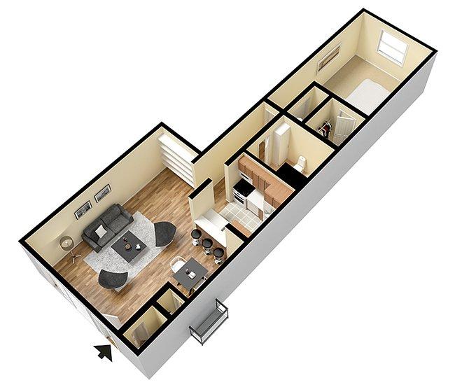 Floor Plans at Verona Park Apartments