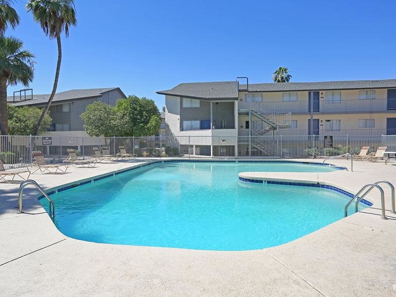Swimming Pool | Fiesta Park Apartments in Mesa, AZ