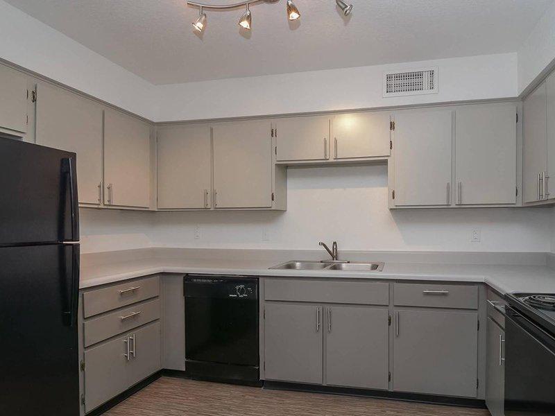 Kitchen | Seventeen 805 an Apartment Community