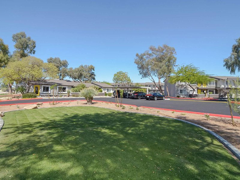 Professionally Landscaped Grounds | Seventeen 805 an Apartment Community