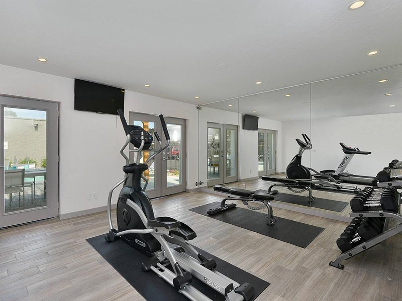 Gym | Seventeen 805 an Apartment Community