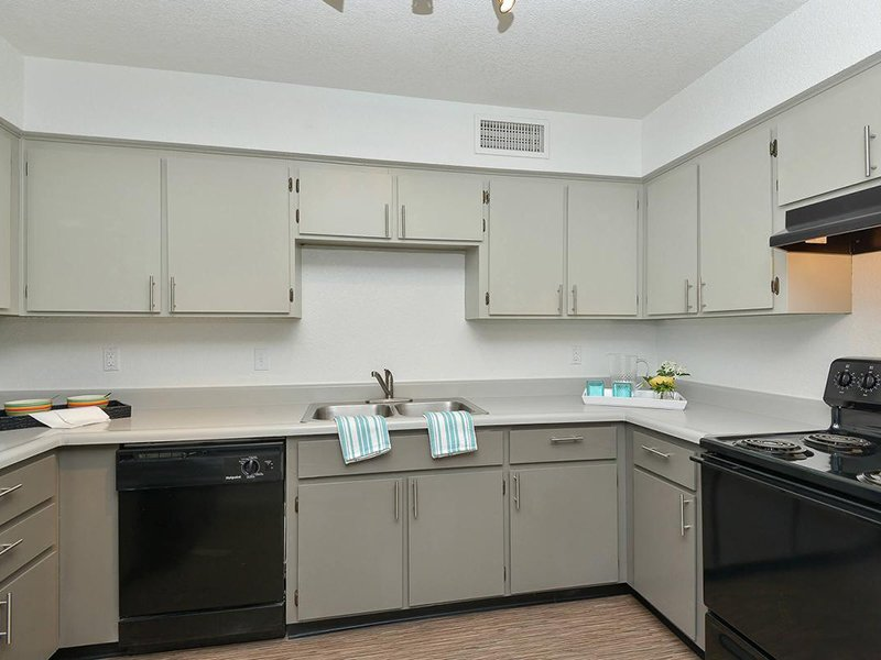 Fully Equipped Kitchens | Seventeen 805 an Apartment Community