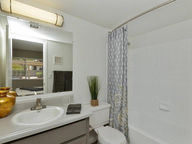 Bathroom | Seventeen 805 an Apartment Community