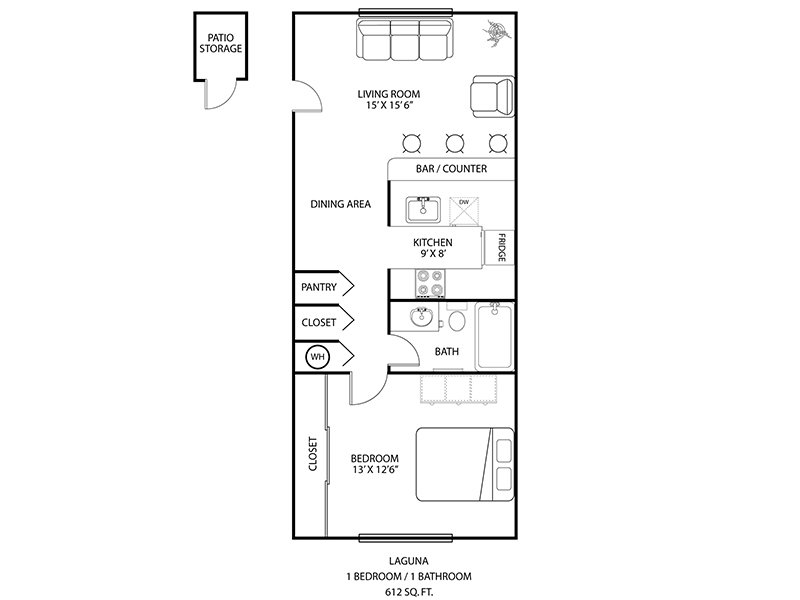 Floor Plans at Newport Apartments