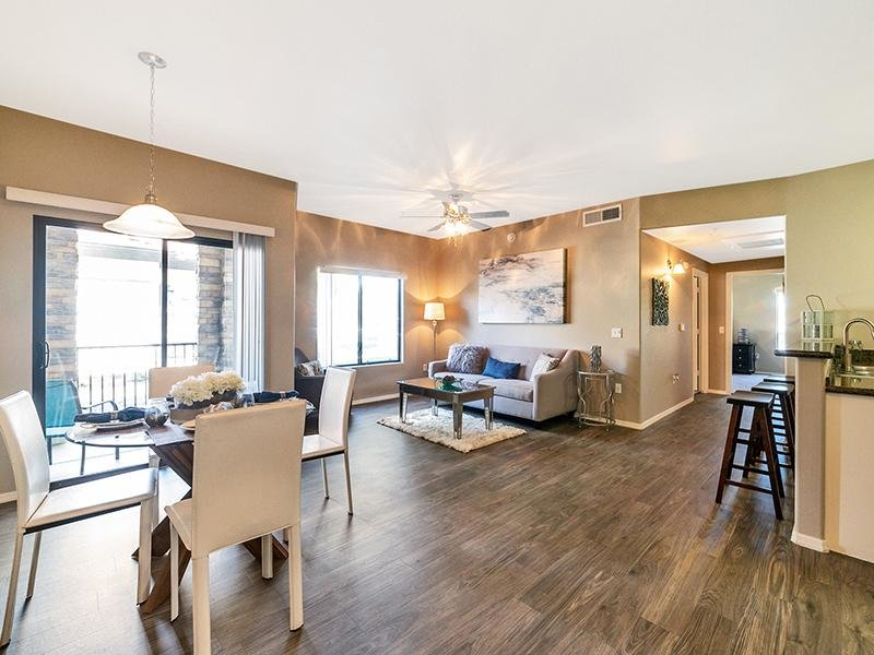 Living Room | Town Center Apartments