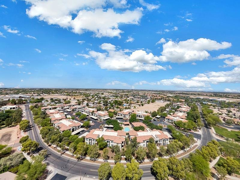 Drone View | Town Center Apartments