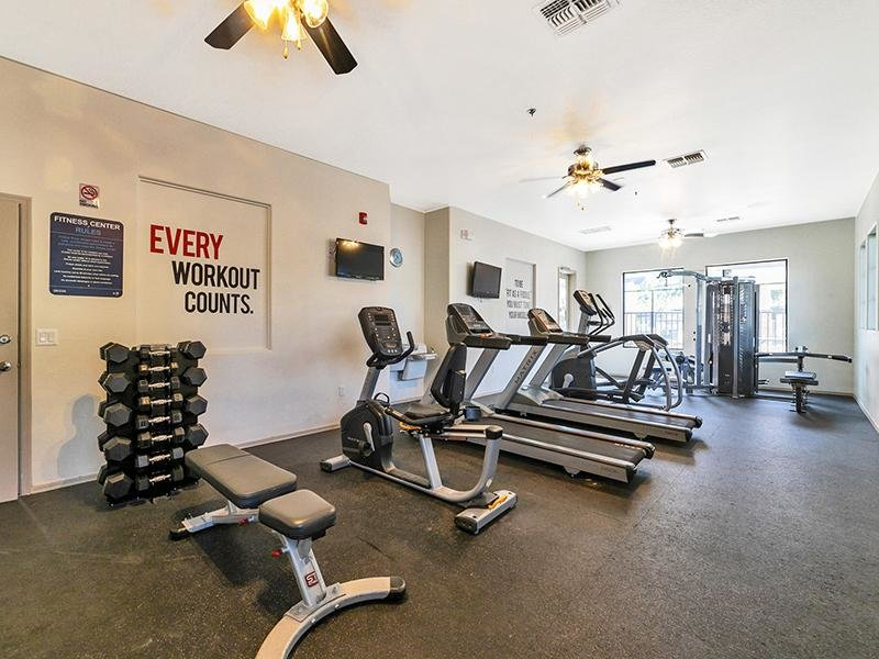 Gym | Town Center Apartments