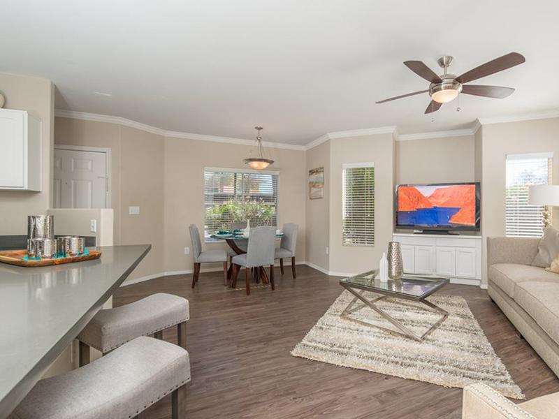 Living Room | Allegro Apartments