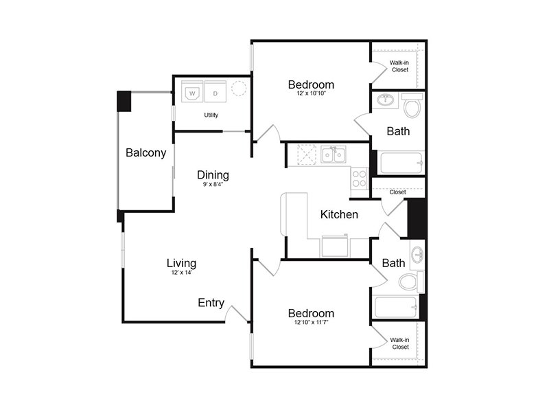 Floor Plans at Harmony at Surprise Apartments