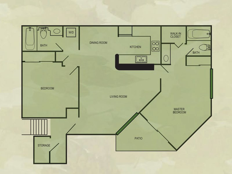 Floor Plans at Val Vista Gardens Apartments