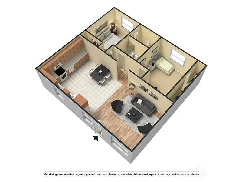 Floor Plans at The Markley at 32nd Apartments