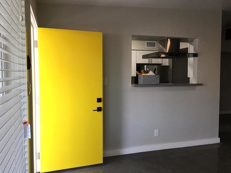 Entry - Living Room - The Markley at 32nd