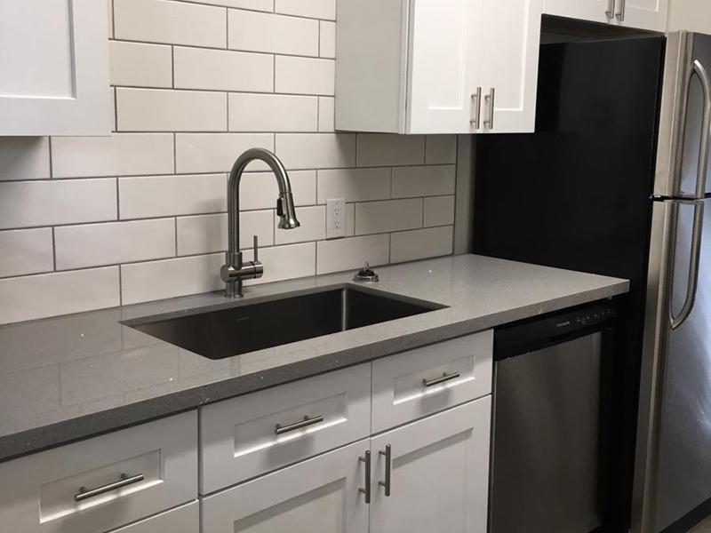 Kitchen and Sink - Apts in Phoenix, AZ