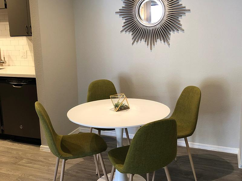 Dining Area | Aria on Mill