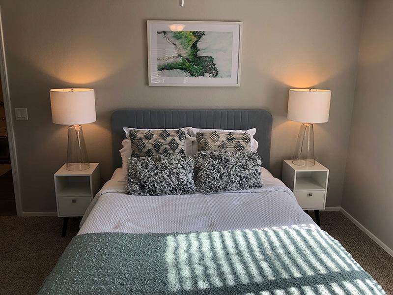 Bedroom | Aria on Mill