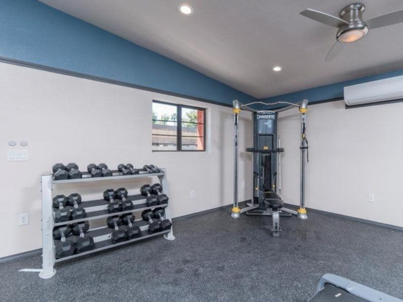 Aria on Mill | Gym | Tempe, AZ