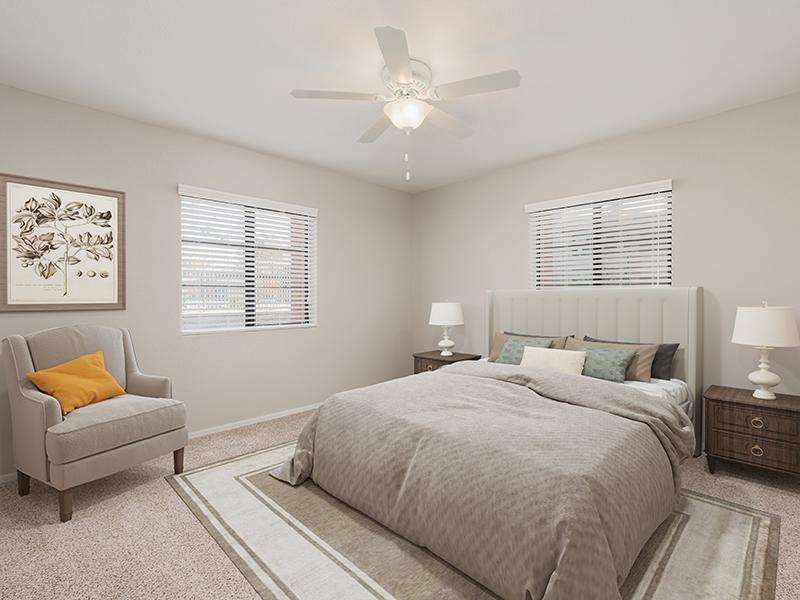 Master Bedroom | Aria on Mill in Tempe, AZ
