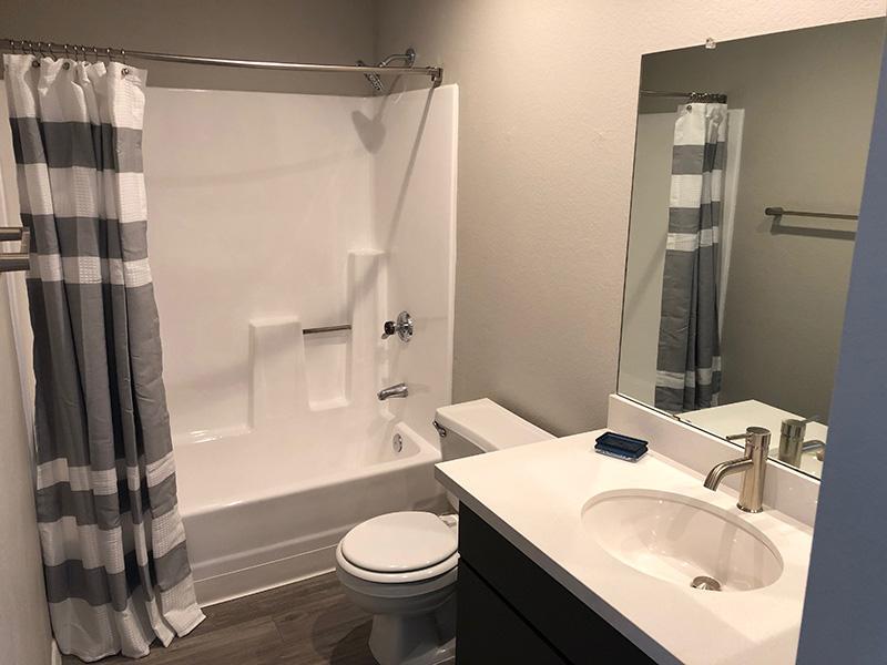 Master Bathroom | Aria on Mill