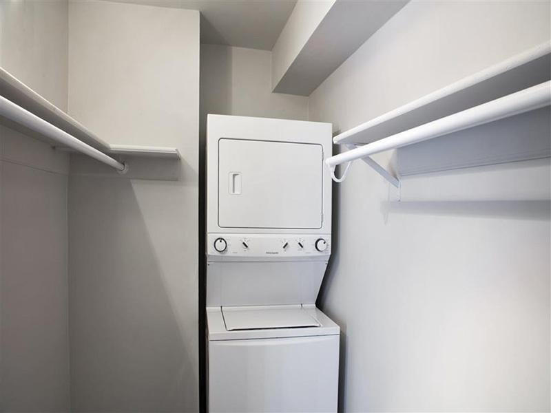 Stacked Washer and Dryer  | Avalon Apartments