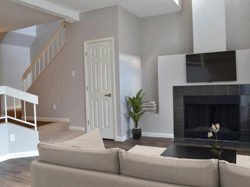 Fireplace | Talavera Apartments