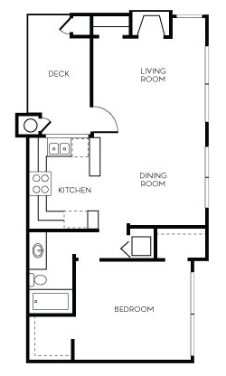 Floorplan for Talavera Apartment Homes Apartments
