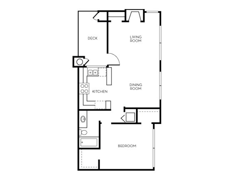 Our Sonora is a 1 Bedroom, 1 Bathroom Apartment