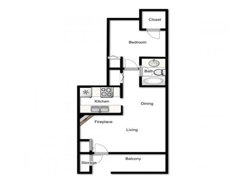 Floor Plans at The Maddox Apartments