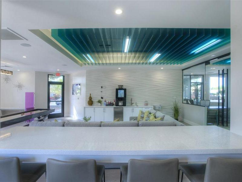Clubhouse Interior | The Maddox Apartments