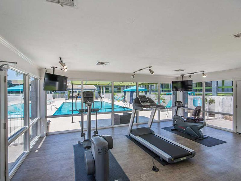 Gym | Bloom 24 Apartments