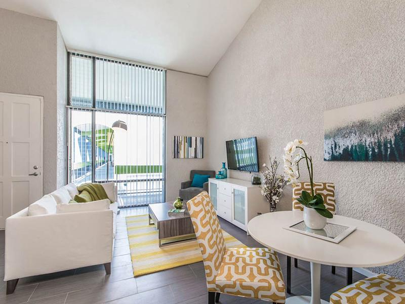 Living Room | Bloom 24 Apartments