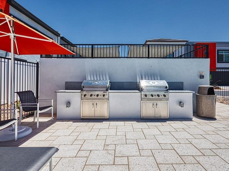 BBQ Area | Ara Residences in Phoenix, AZ