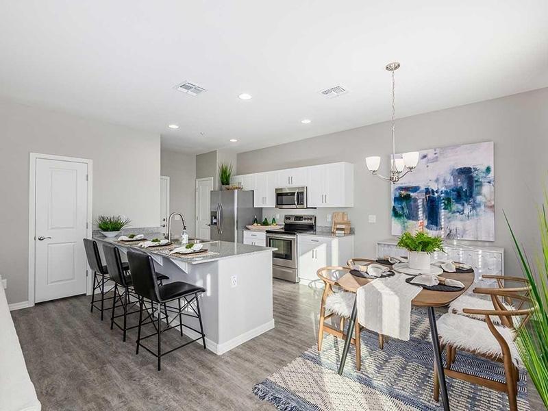 Dining Area & Kitchen | Ara Residences