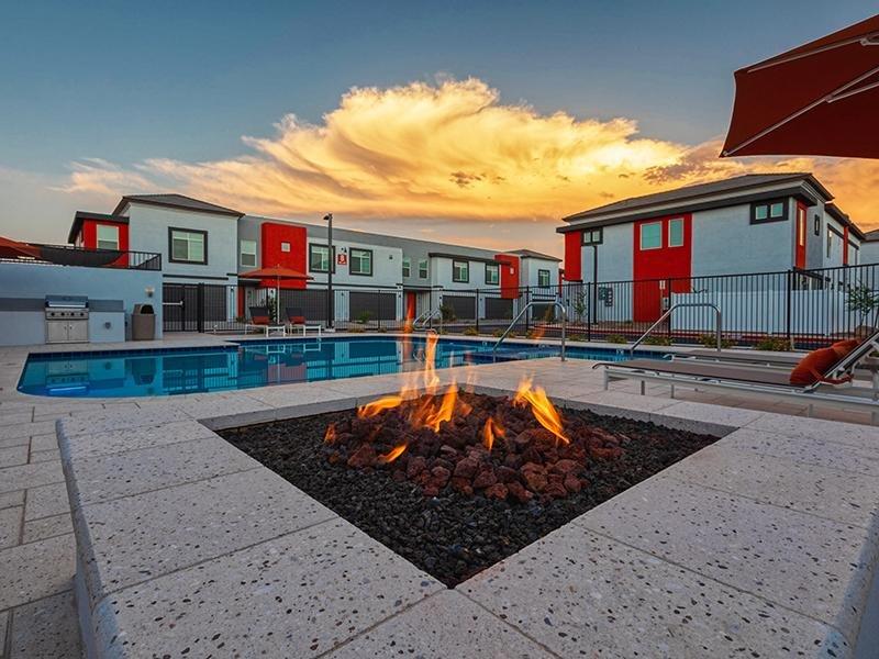 Firepit | Ara Residences in Phoenix, AZ