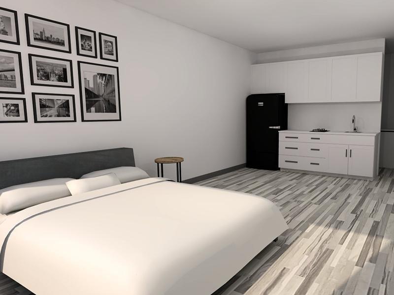 Bedroom | Vivo Mesa in Mesa, AZ