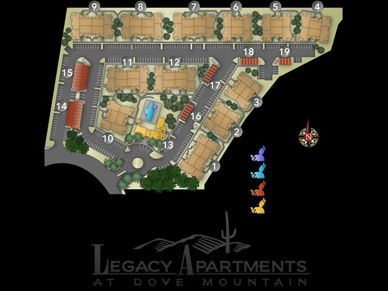 Sitemap | Legacy at Dove Mountain